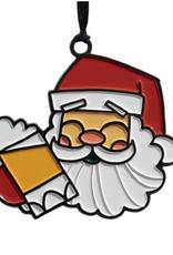 Santa Beer Ornament