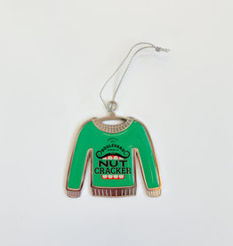 Nutcracker Ugly Christmas Sweater Ornament