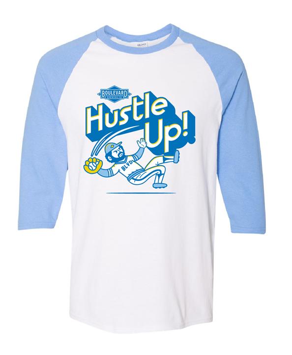 Hustle Up Raglan