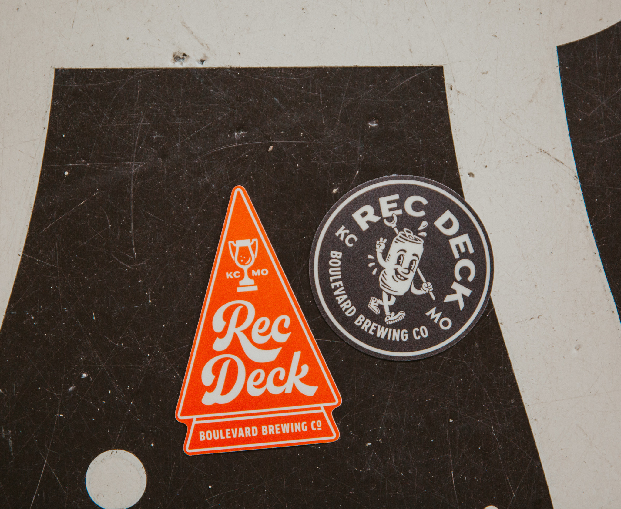 Rec Deck Sticker