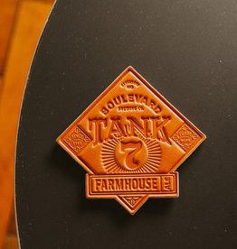 Tank 7 Leather Coaster