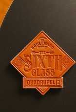 The Sixth Glass Leather Coaster