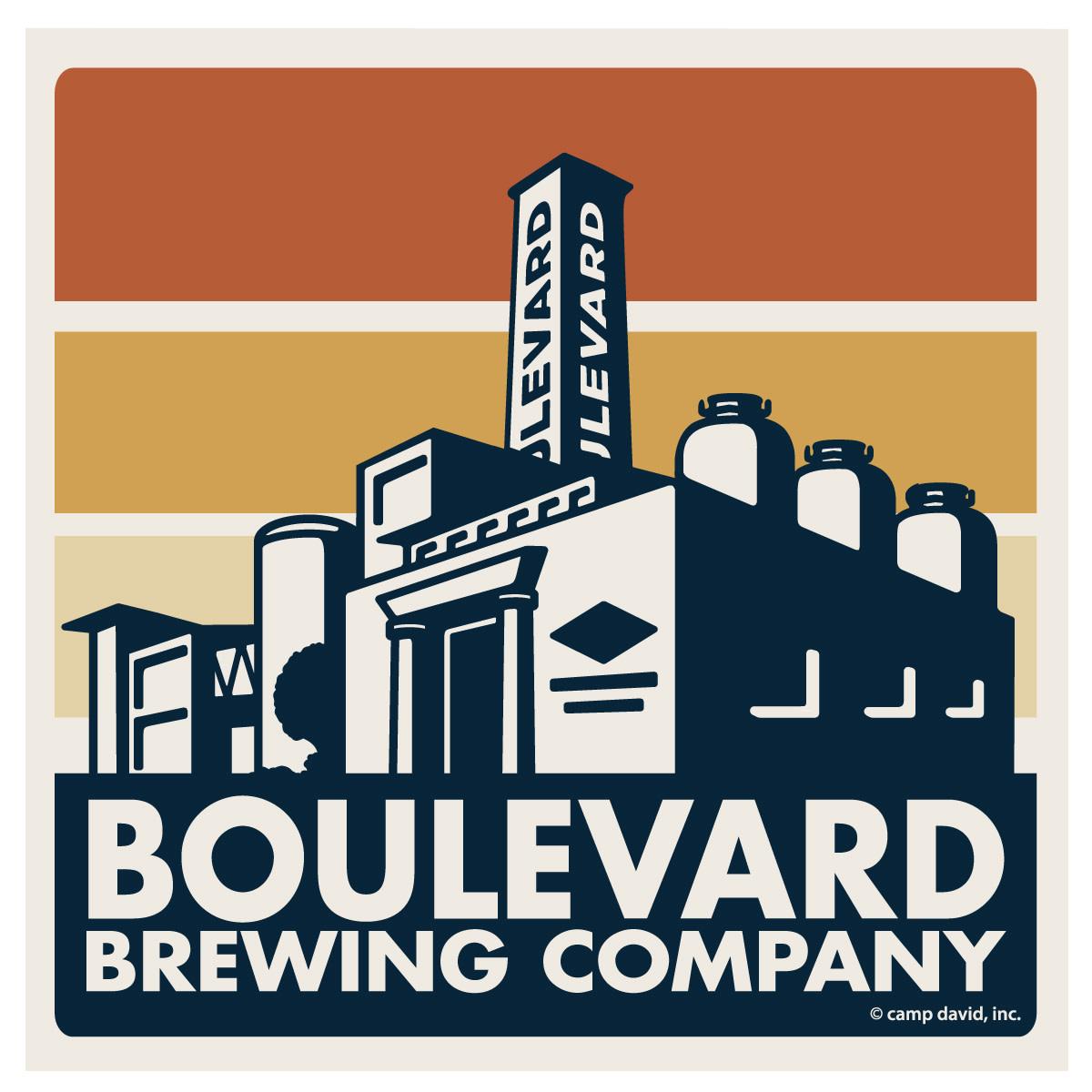 Boulevard Square Sticker