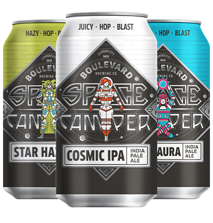 Space Camper Cosmic Mix Twelve Pack 12 oz. cans