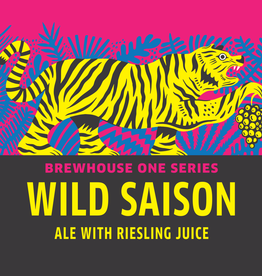 Wild Saison Ale with Riesling Juice 750 ml bottle