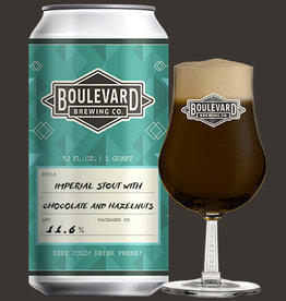 Imperial Stout with Chocolate and Hazelnuts 32 oz. Crowler