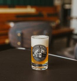 Circle Brewery Logo Tasting Glass