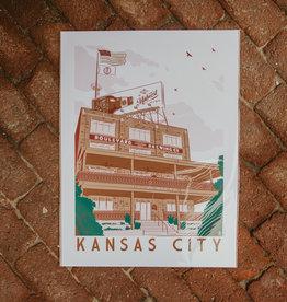 "Visitor Center Print 18"" x 24"""