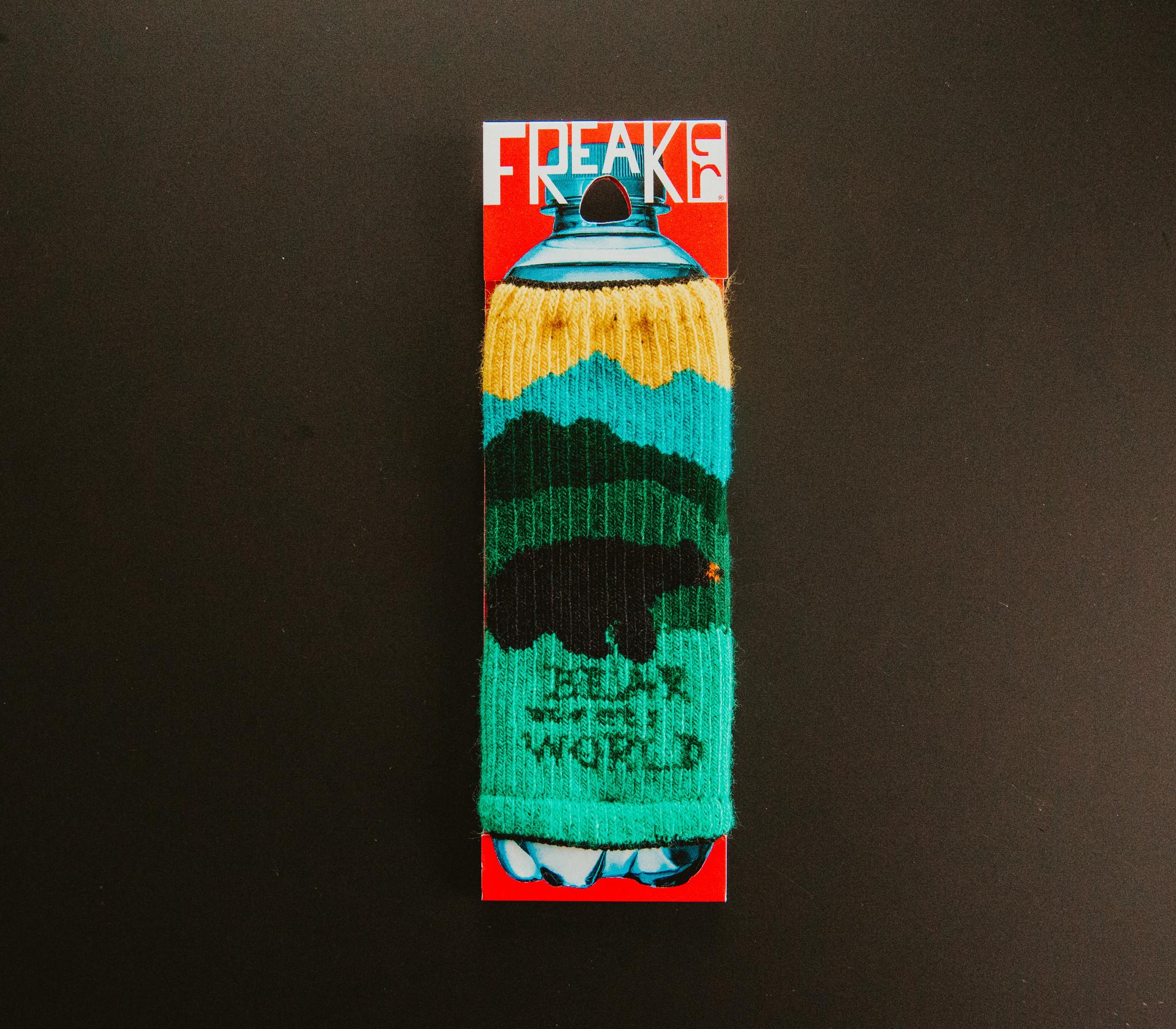"""Freaker Knit Koolie """"Bear Meets World"""""""