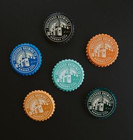 Bottle Cap Brewery Magnet