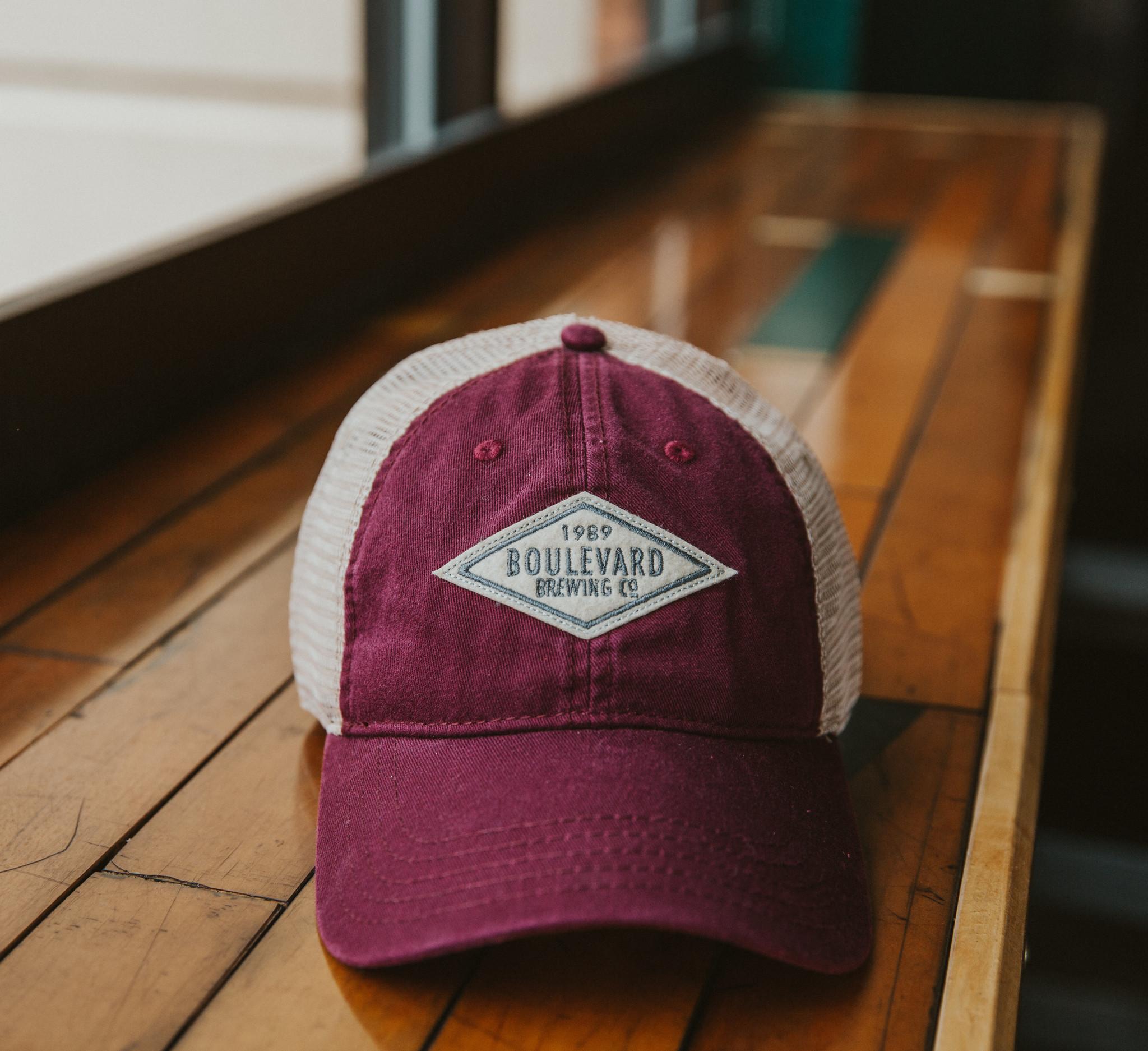 Diamond Felt Patch Hat