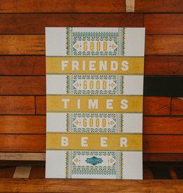 Hammerpress Good Beer Poster