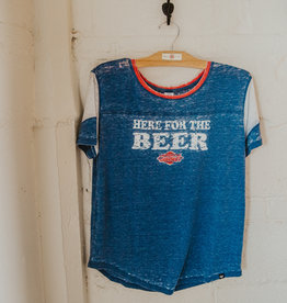Women's Here for the Beer Fade Out Tee