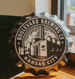 Brewery Logo Bottle Cap Tin Tacker