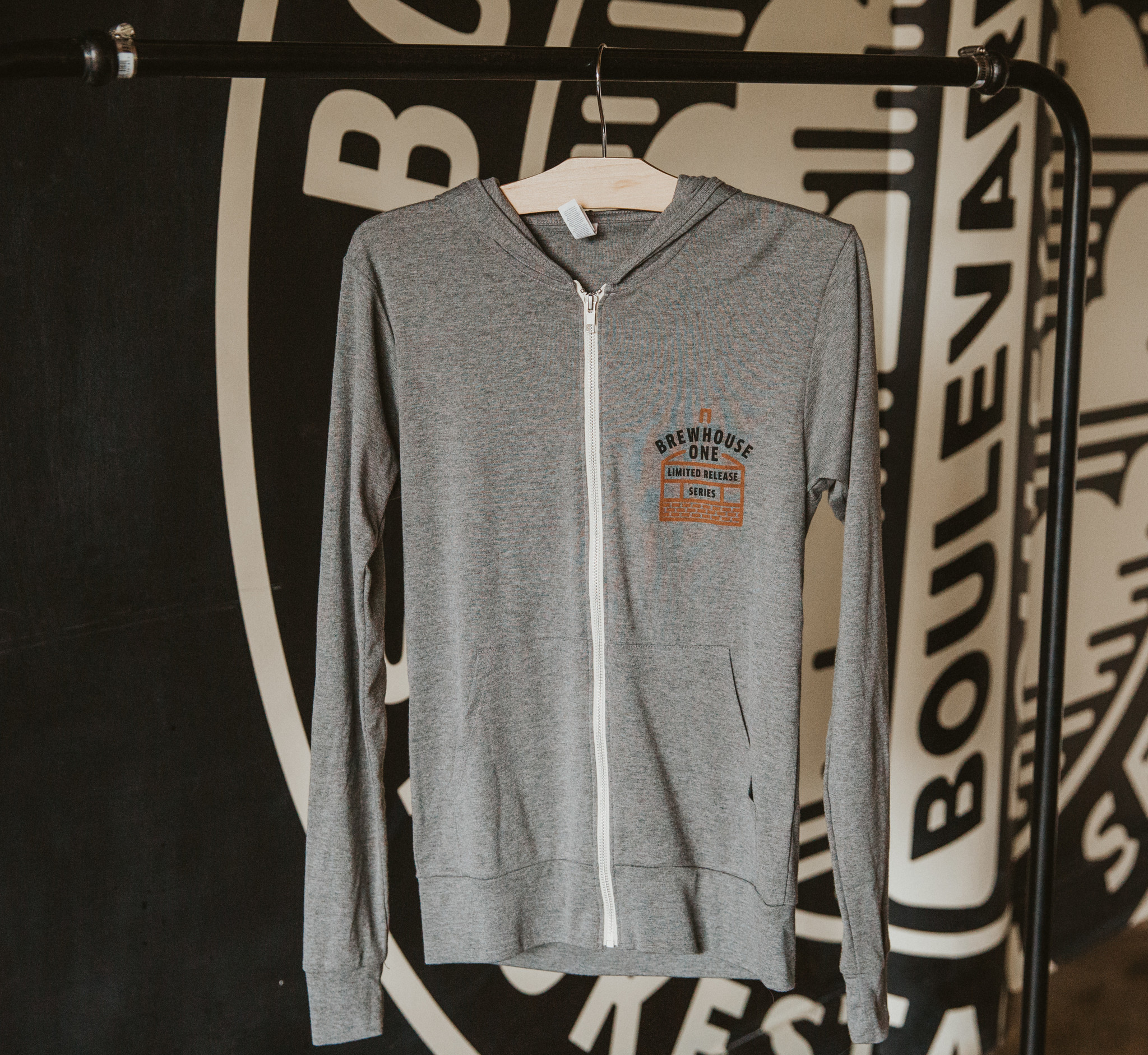 Brewhouse One Zip Up Hoodie