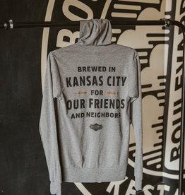 Brewhouse One Zip Up Hoodie