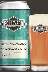 Test - Peach Berry Pie Berliner Weisse 32 fl oz Crowler
