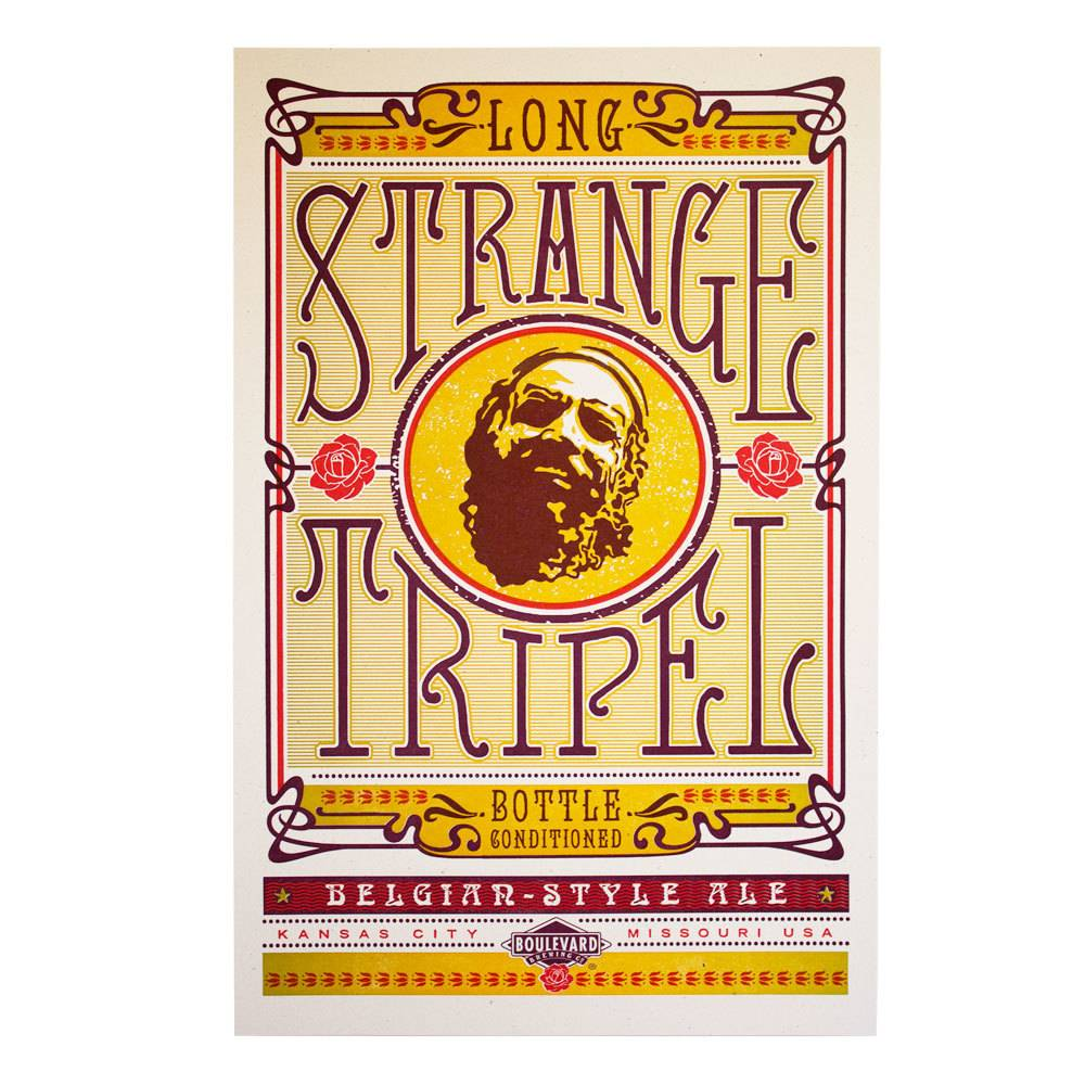 Hammerpress Long Strange Tripel Poster