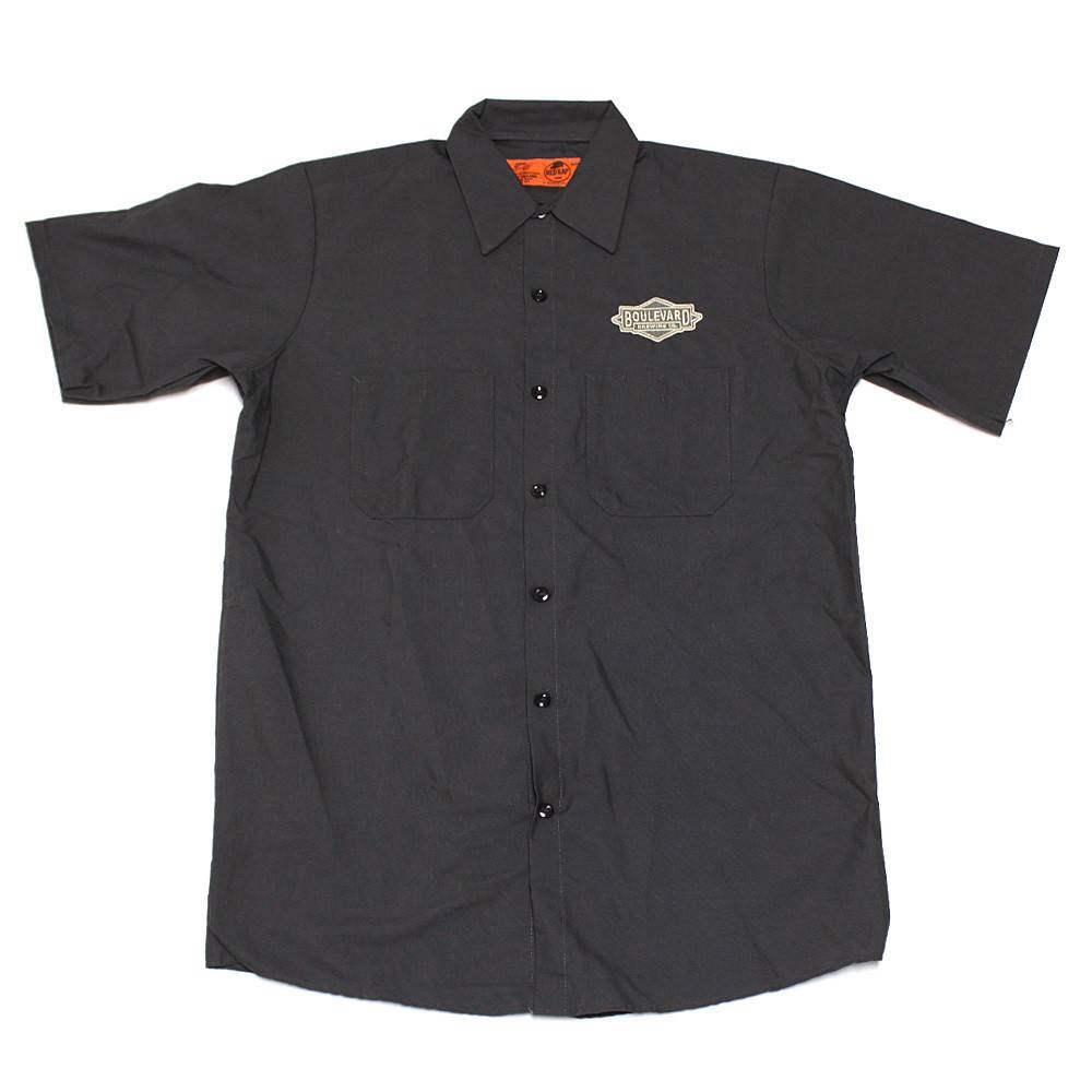 Charcoal Logo Workshirt
