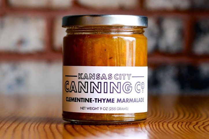 Clementine Thyme Marmalade