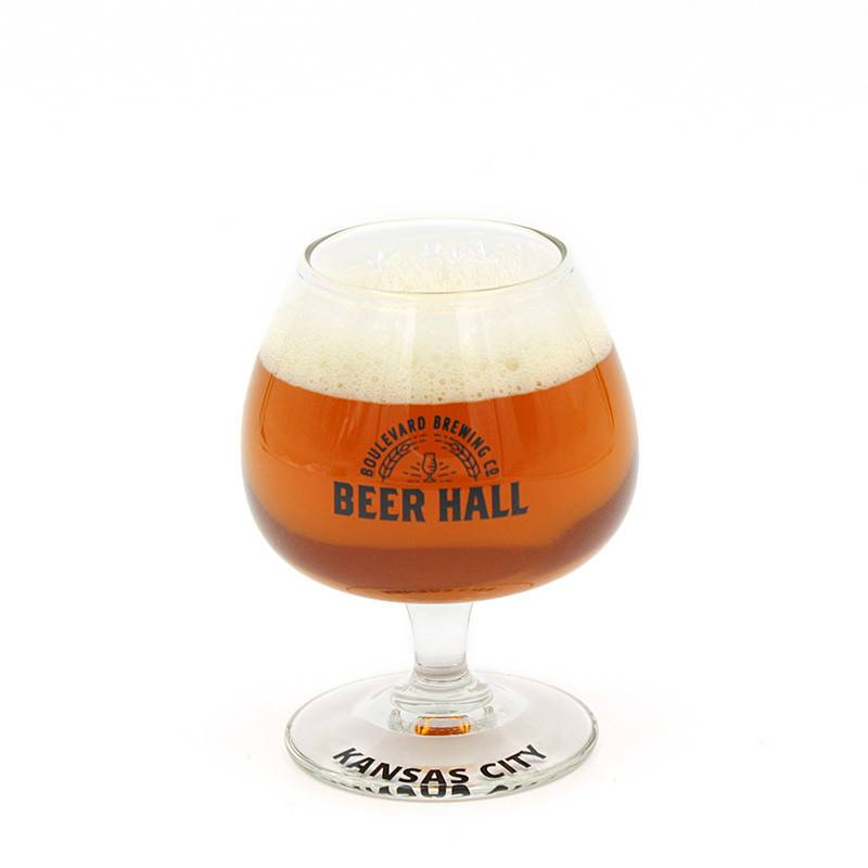 Beer Hall Logo Tasting Glass