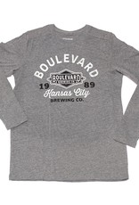 Boulevard 1989 Long Sleeve Tee gray