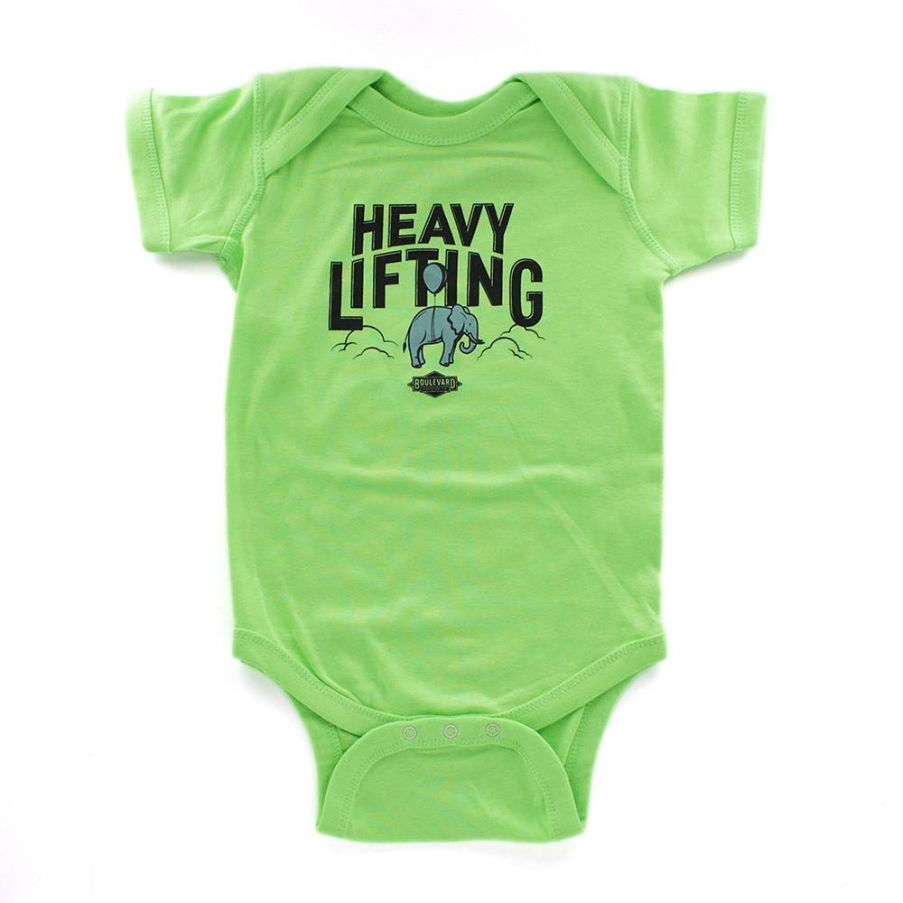 Heavy Lifting Onesie