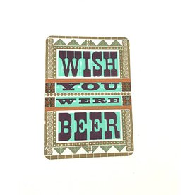 Hammerpress Wish You Were Beer Postcard