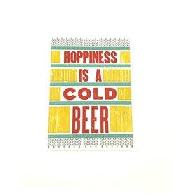 Hammerpress Hoppiness Postcard