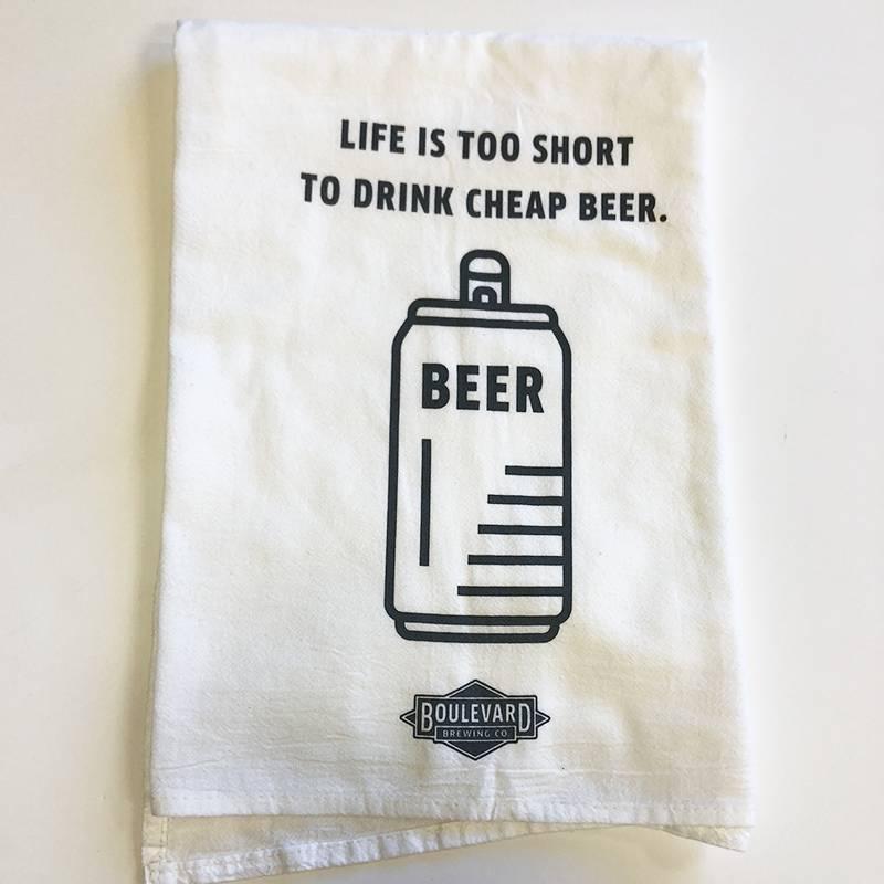 Cheap Beer Tea Towel