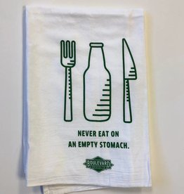 Empty Stomach Tea Towel