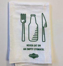 Empty Stomach Tea Towel