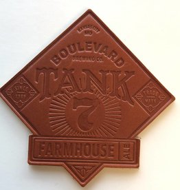 Tank 7 Leather Coaster