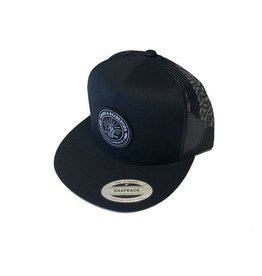 Tours & Rec Black Snapback Hat
