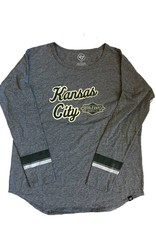 Women's Courtside Kansas City Long Sleeve Tee