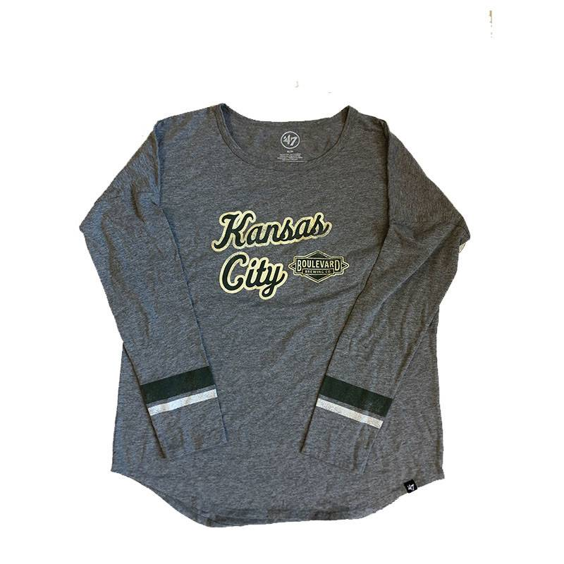 Women's Courtside Kansas City Long Sleeve Tee