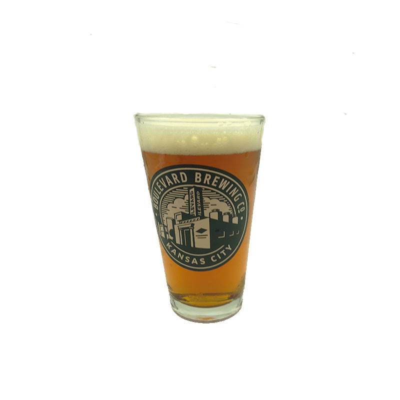 Circle Brewery Logo Pint Glass