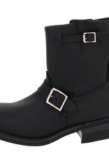 Frye 3477500 BLK Engineer 8R Black Women/'s Boots