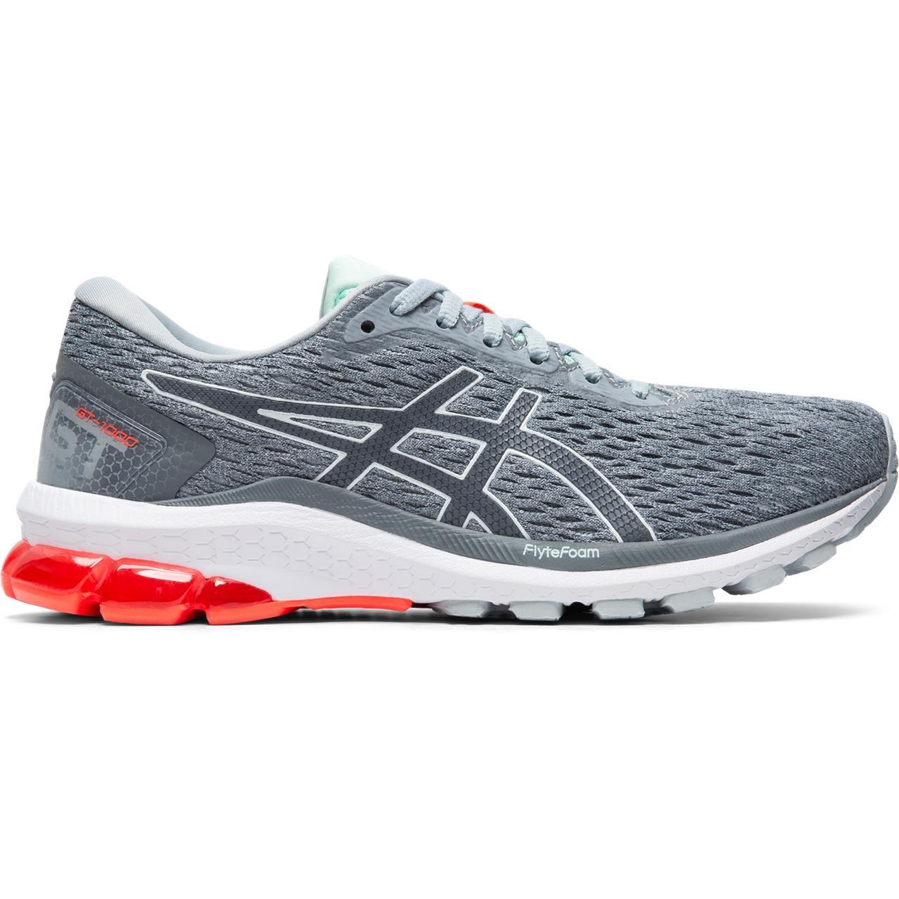 ASICS ASICS 1012A651 021 GT 1000 9 Piedmont Grey Metropolis Women's Running Shoes (Size 6 US)