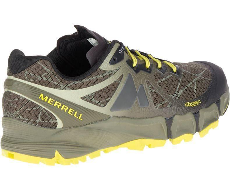Merrell Agility Peak Flex Olive Mens Trail Runner J09643