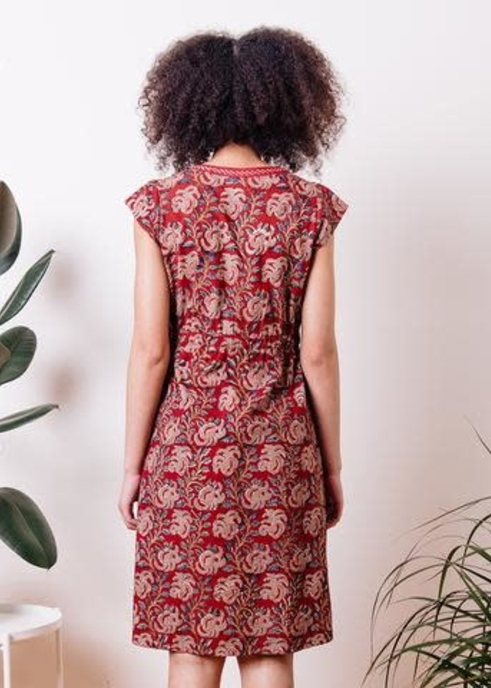 Mata Traders Jaya Raspberry Dress