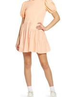 ENDLESS ROSE English Factory Puff Sleeve Dress