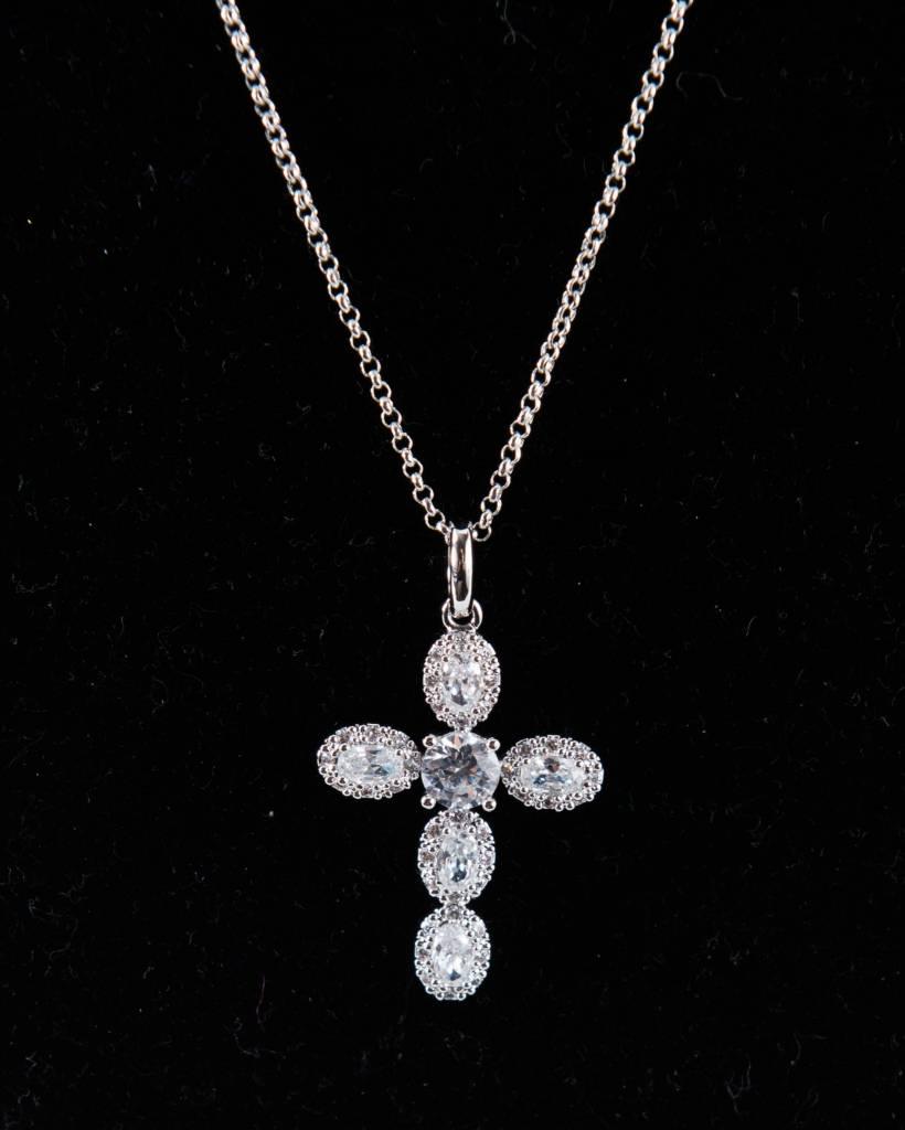 Theia Necklace 26508N0048-CrossLongPendantNecklace