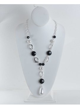A Touch of Style Necklace SC01120-Necklace/Silver