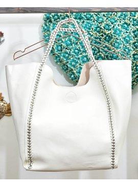 Handbag YS11445-WhiteHandbag