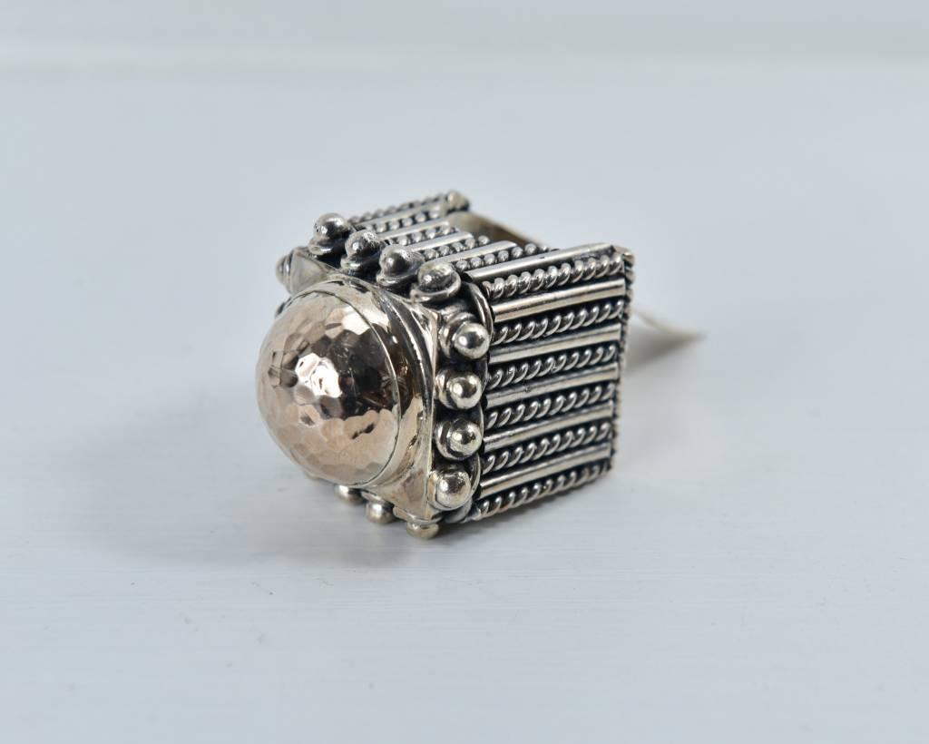 Rings CARING041-RingDomoAlto