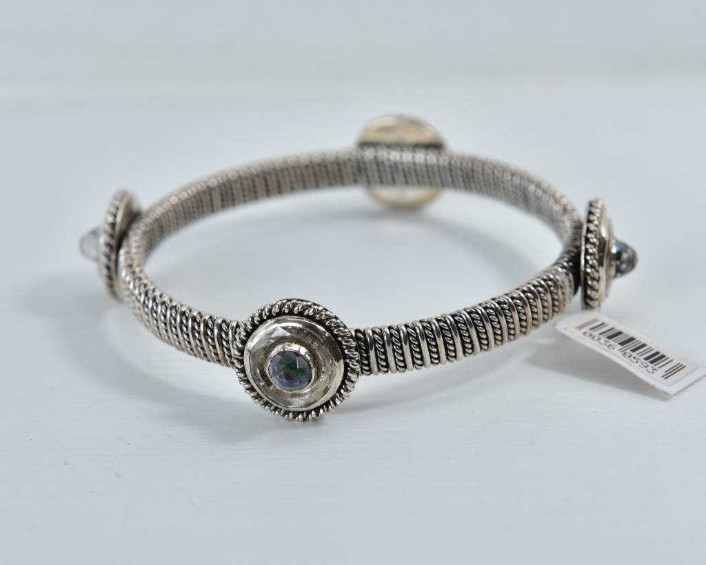 Bracelets CABRAS062-BraceletW/CrystalFrost