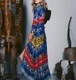 Ruby Ya Ya Dress PALMILA-DressVNeck/Multi
