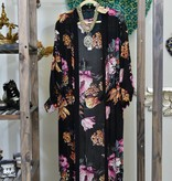 Beulah Outerwear CD4516-BlackKimono