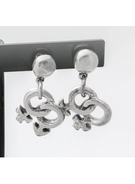 Uno de 50 Double Couples Earrings - Uno de 50